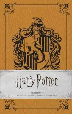 Harry Potter - Hufflepuff Ruled Pocket Journal