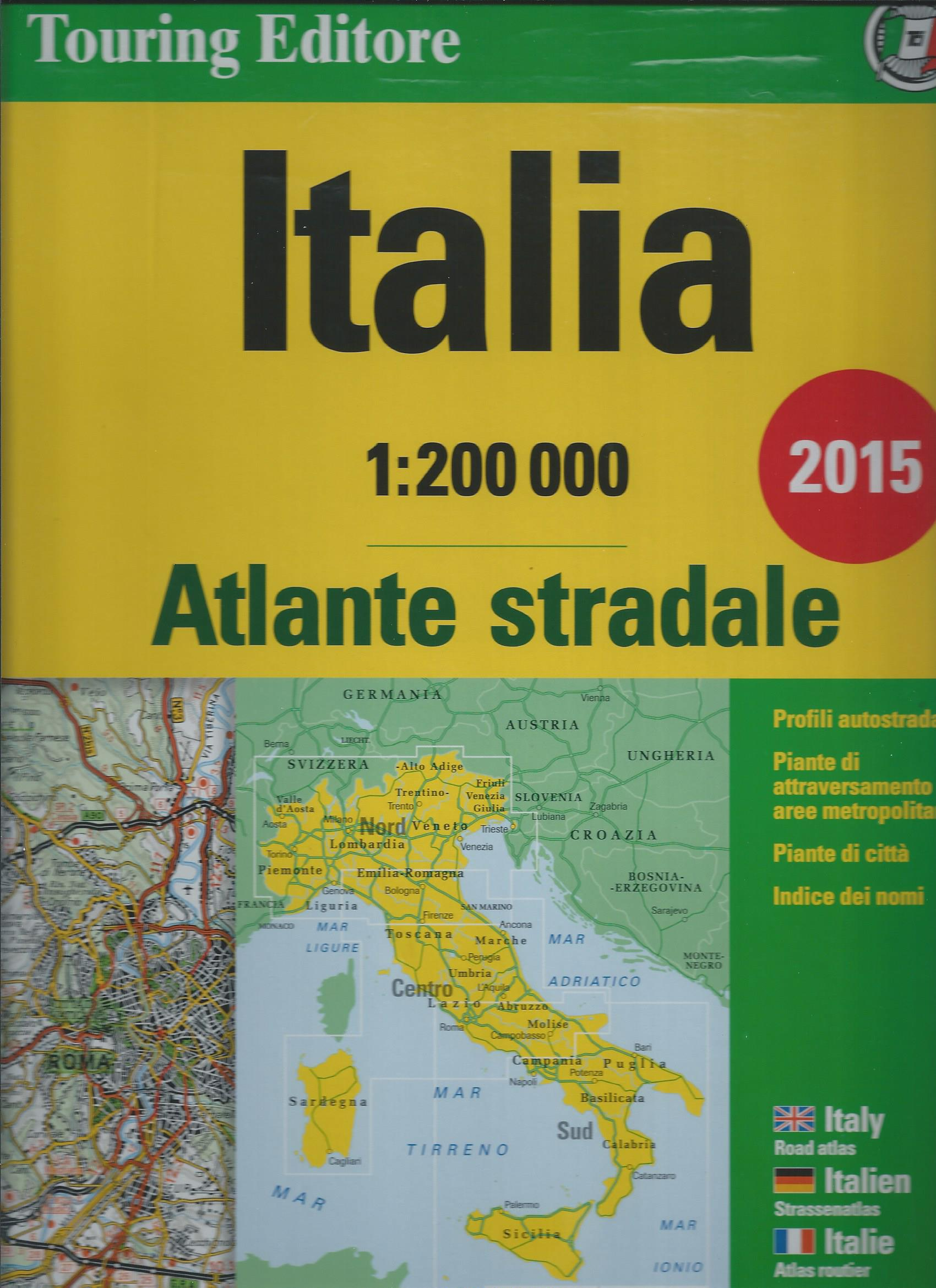 Atlante stradale Italia 1:200 000