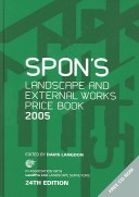 SPON'S LANDSCAPE AND EXTERNAL WORKS PRICE BOOK 200