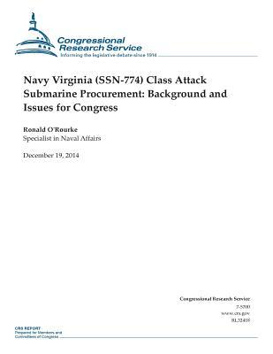 Navy Virginia Ssn-774 - Class Attack Submarine Procurement