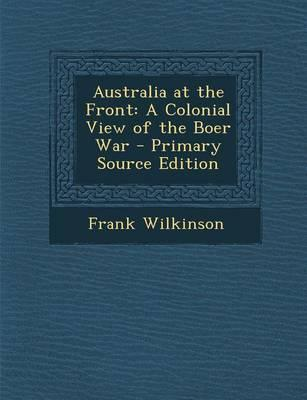 Australia at the Front