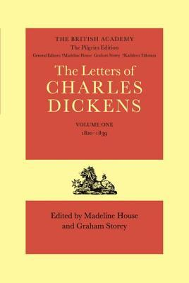 The Pilgrim Edition of the Letters of Charles Dickens
