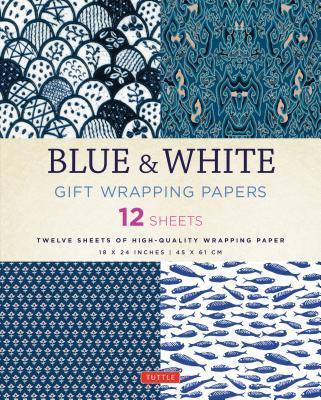 Blue & White Gift Wr...