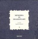 Memoria di Shakespea...