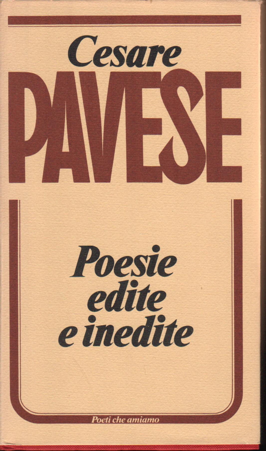 Poesie edite e inedi...