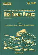 Proceedings of the 29th International Conference on High Energy Physics