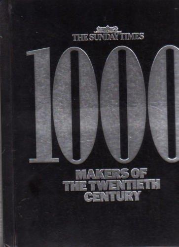 1000 Makers of the Twentieth Century