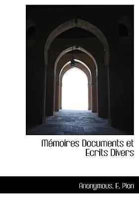 M Moires Documents Et Ecrits Divers