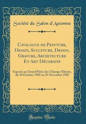 Catalogue de Peintur...