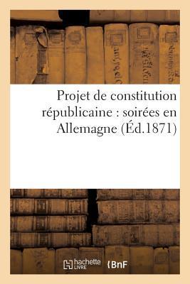 Projet de Constitution Republicaine