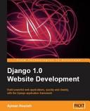 Django 1.0 Website Development