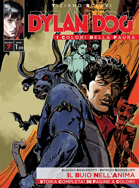 Dylan Dog - I colori della paura n. 7