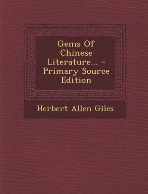 Gems of Chinese Lite...