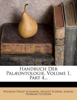 Handbuch Der Palæon...
