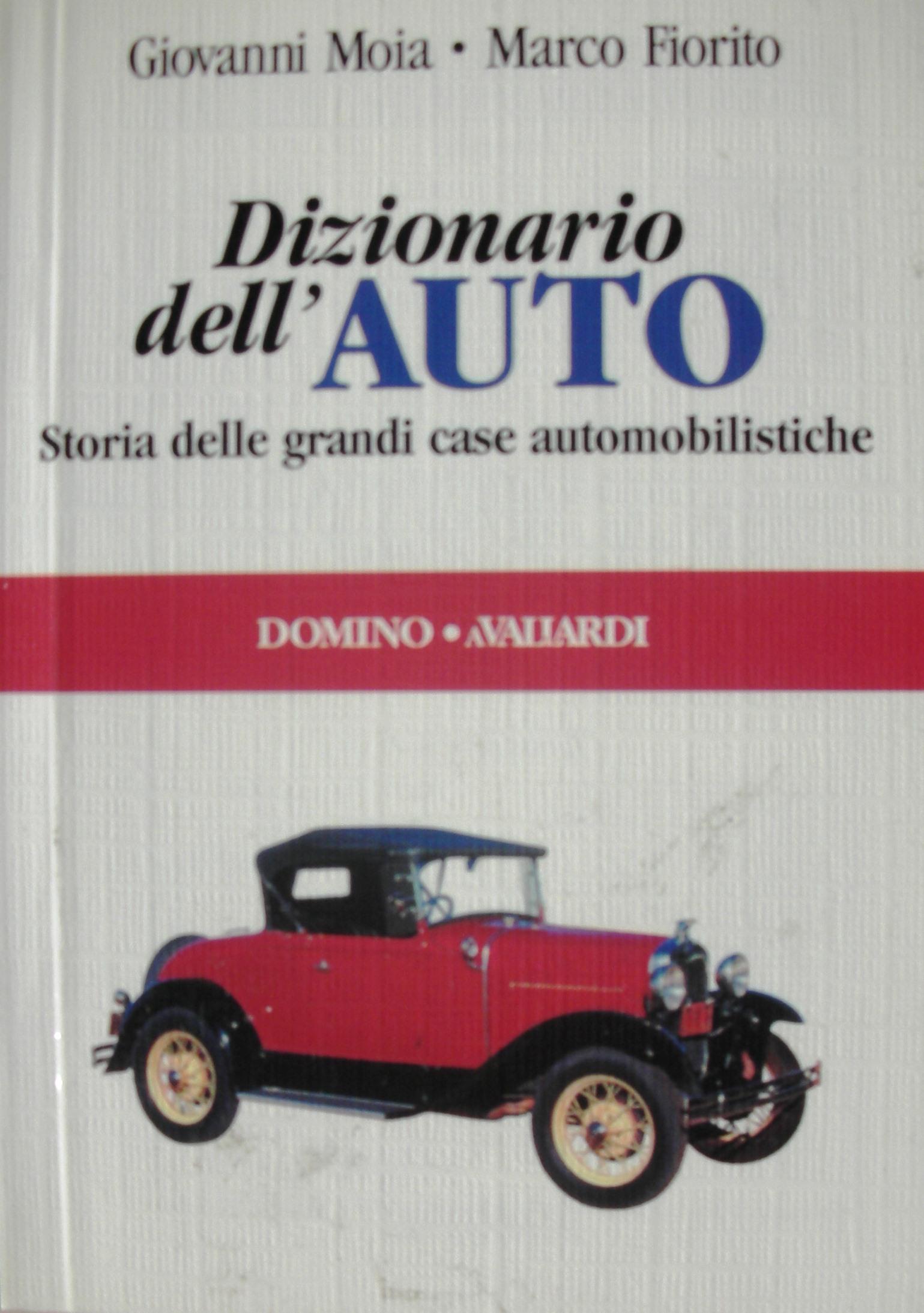 Dizionario dell'auto