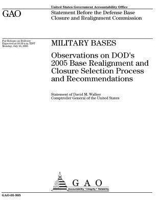 GAO-05-905 Military Bases