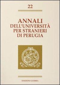 Annali dell'Università per stranieri di Perugia