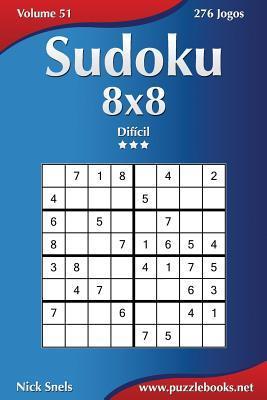 Sudoku 8x8 - Dificil - 276 Jogos