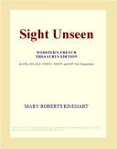 Sight Unseen (Webste...