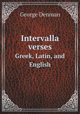 Intervalla Verses Greek, Latin, and English