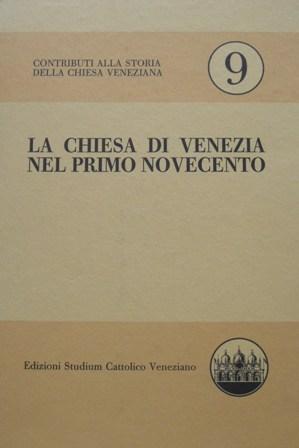 Contributi alla storia della chiesa di Venezia
