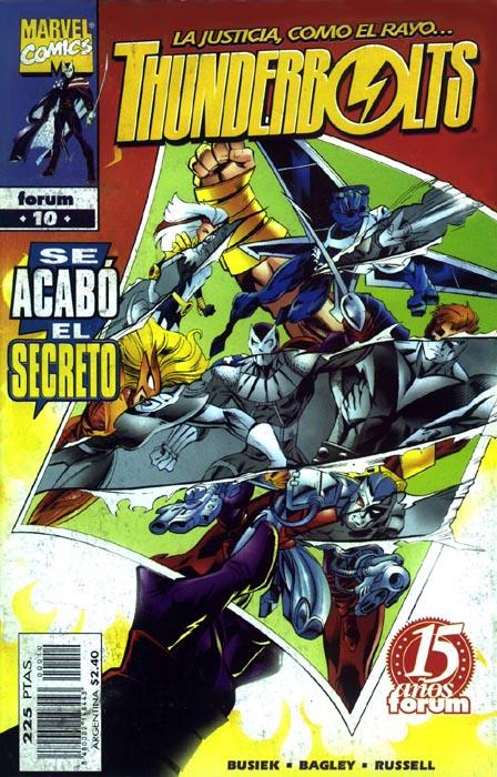 Thunderbolts Vol.1 #10 (de 40)