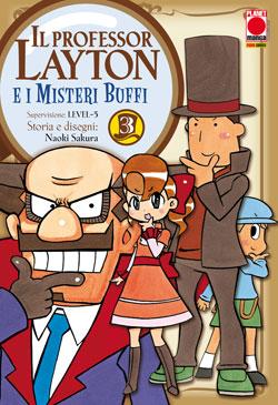 Il professor Layton e i misteri buffi vol. 3