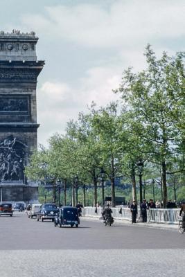 Arc de Triomphe in the 1960s