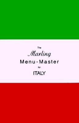 The Marling Menu-Master for Italy