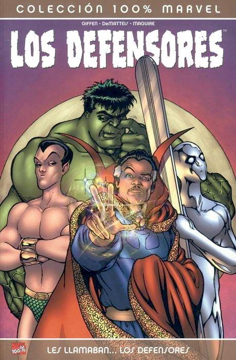 100% Marvel. Los Defensores