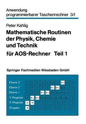 Mathematische Routinen Der Physik, Chemie Und Technik Für Aos-rechner