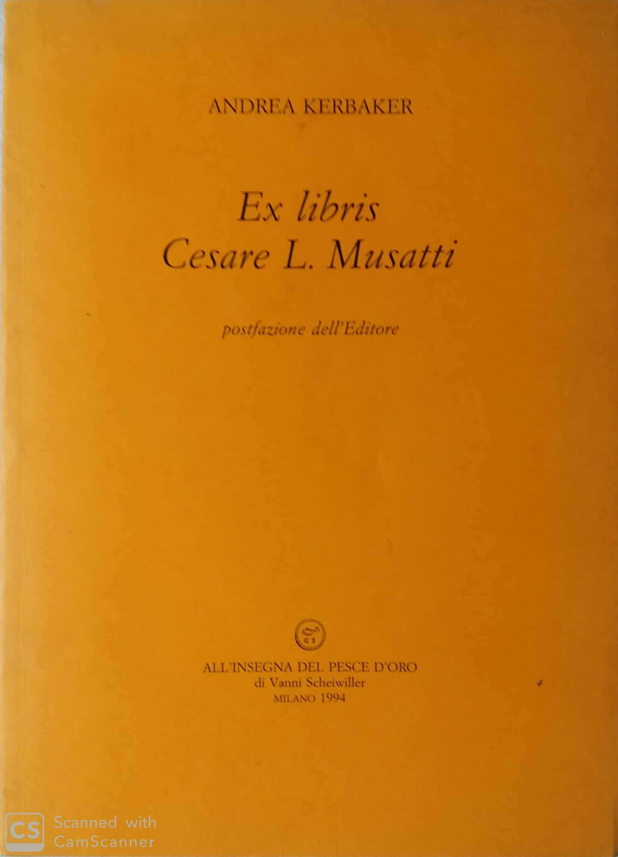 Ex libris Cesare L. Musatti