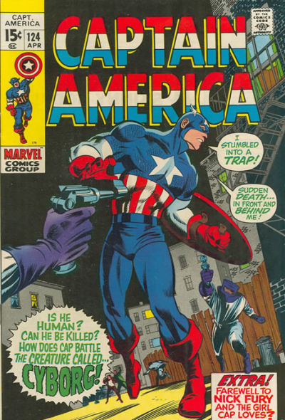 Captain America Vol.1 #124