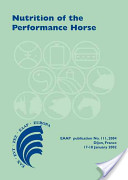 Nutrition Of The Performance Horse
