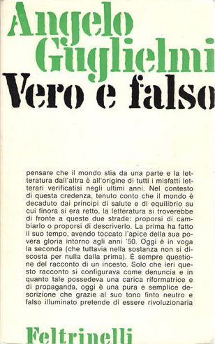Vero e falso