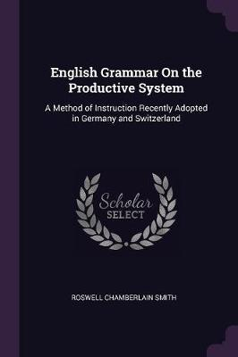 English Grammar on the Productive System