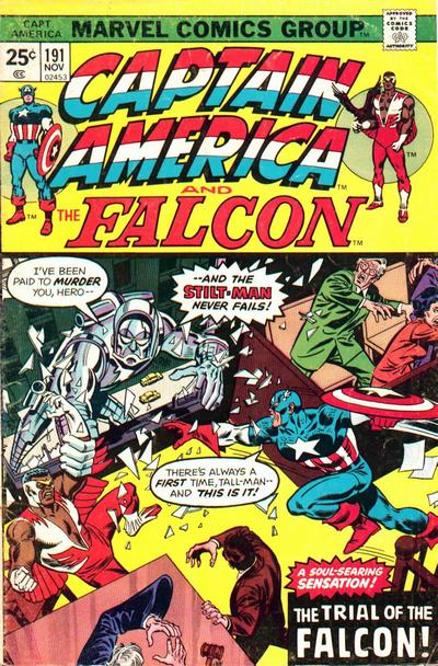 Captain America Vol.1 #191