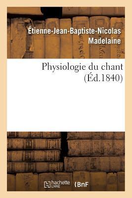 Physiologie du Chant