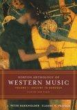 Norton Anthology of Western Music, Fifth Edition