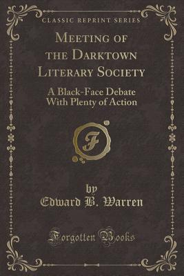 Meeting of the Darktown Literary Society