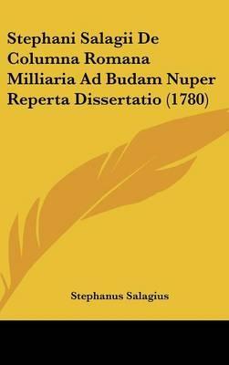Stephani Salagii de ...