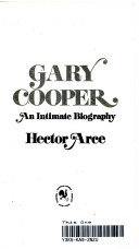 Gary Cooper, an intimate biography