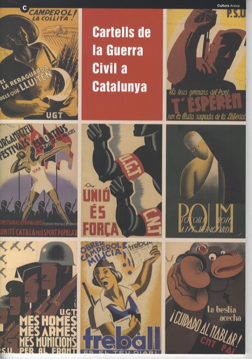 Cartells de La Guerra Civil a Catalunya