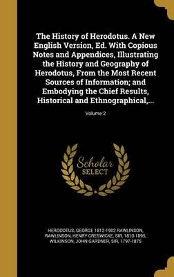 HIST OF HERODOTUS A NEW ENGLIS