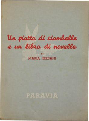 Un piatto di ciambelle e un libro di novelle