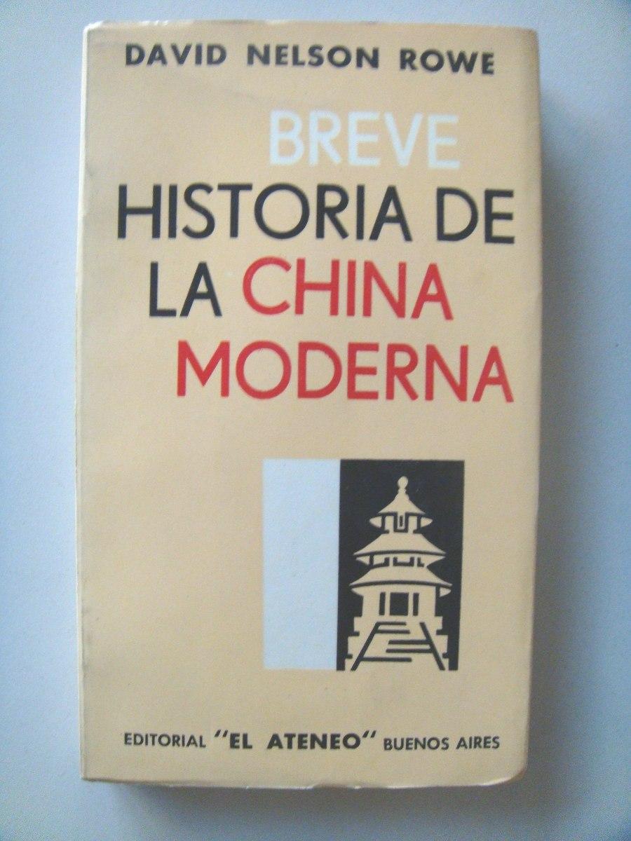 Breve historia de la China moderna