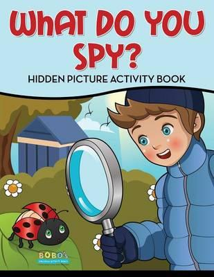 What Do You Spy? Hidden Picture Activity Book