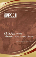 Q and A's for the Pmbok Guide