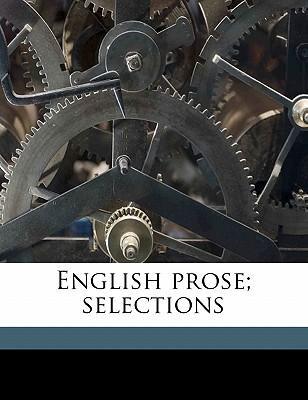 English Prose; Selec...