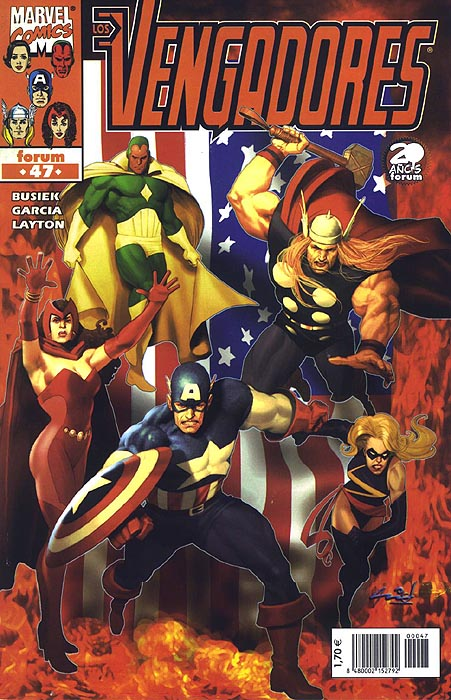 Los Vengadores Vol.3...